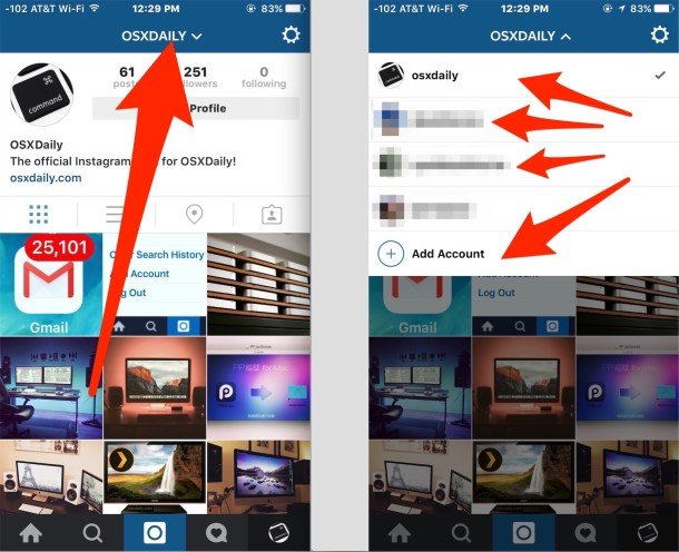 switch-multiple-account-on-instagram