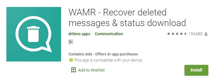 wamr-recovery