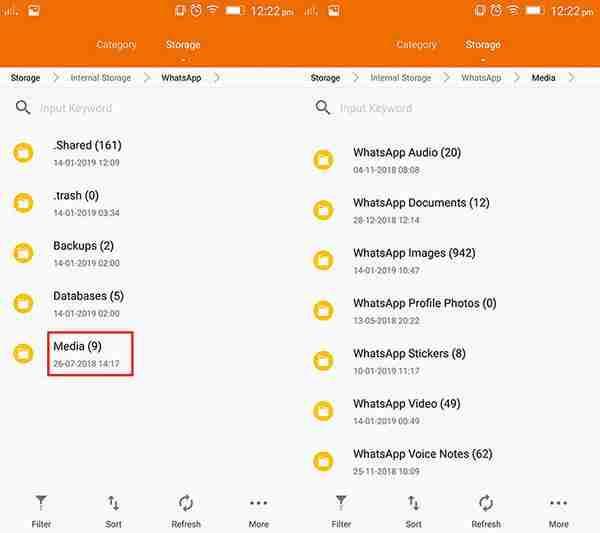 whatsapp-database-folder