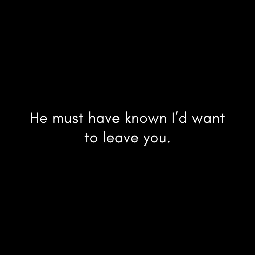he-must