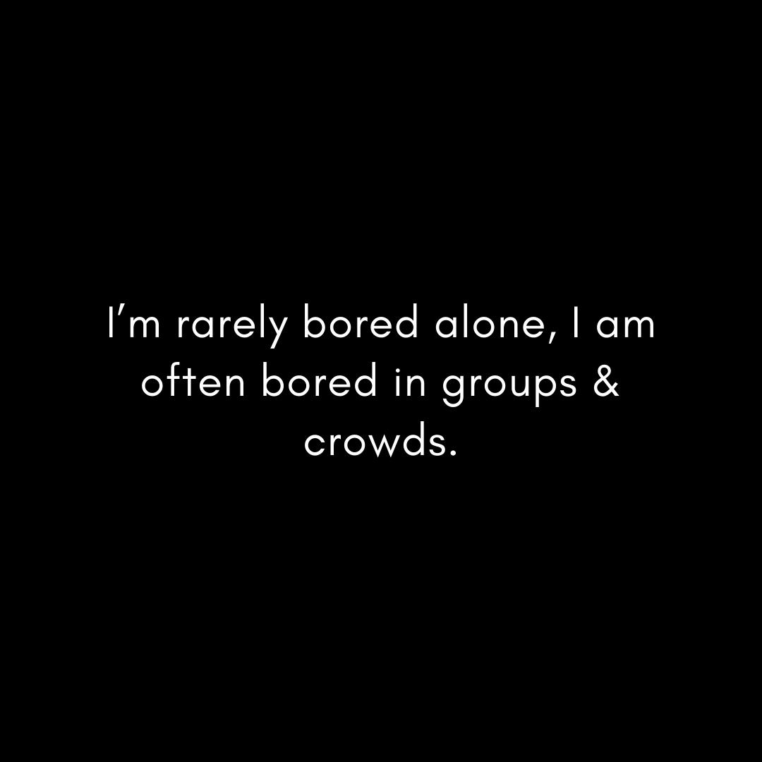 i'm-rarely