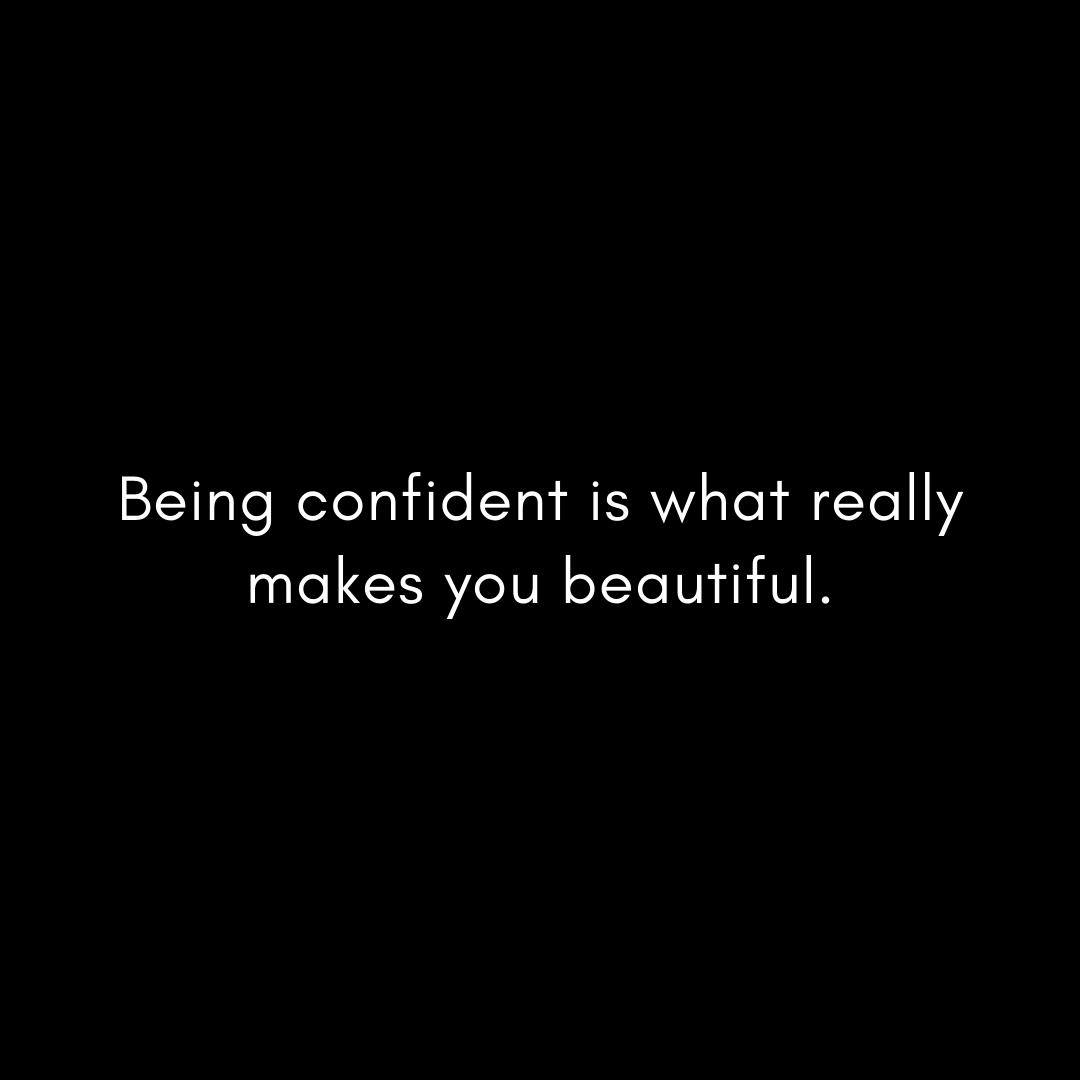 being-confident