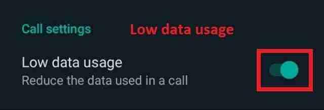 low-data-usage